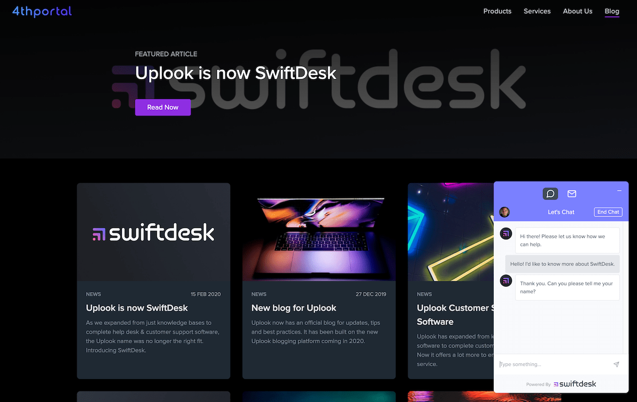 SwiftDesk screenshots - SwiftDesk Blog